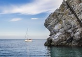 Yacht a vela — Foto Stock