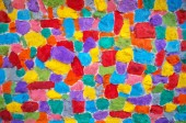 Texture of colorful wall — Stock Photo