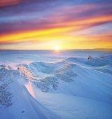 Paisagem de inverno — Fotografia Stock