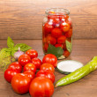 Canning tomatoes — Stock Photo #53701895
