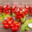 Canning tomatoes — Stock Photo #53701969