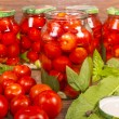 Canning tomatoes — Stock Photo #53701975