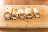 Pastries for cannoli — Stock Photo