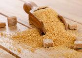 Bruine suiker — Stockfoto