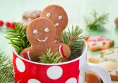 Homemade gingerbread men — Stock Photo