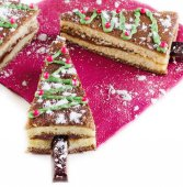 Christmas sweet cakes — Photo