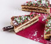 Christmas sweet cakes — Zdjęcie stockowe