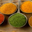 Colourful dried spices — Stock Photo #58078123