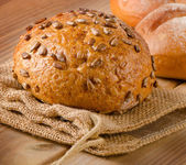Fresh natural bread — Stock Photo