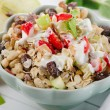 Muesli and  fruits for breakfast — Stock Photo #65183397