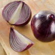 Fresh red onions — Stock Photo #69679621