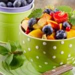 Fresh healthy fruit salad — Stock Photo #72546991