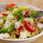 Gluten free vegetable salad — Stock Photo #76137935