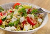 Gluten free vegetable salad — Stock Photo
