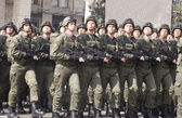 Troops are on Khreshchatyk — Stok fotoğraf