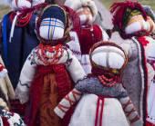Традиционная украинская Кукла мотанка — Стоковое фото
