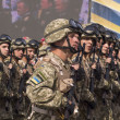 Постер, плакат: Kiev military parade to mark Independence day