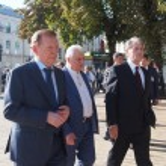 ������, ������: Former Presidents Leonid Kravchuk Leonid Kuchma and Viktor Yushchenko