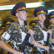 Постер, плакат: Military parade in Kiev ahead of Independence Day