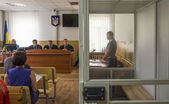 The trial of the kidnappers Avtomaydan activist postponed — Stockfoto