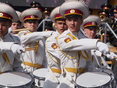 Military parade in Kyiv — Stock Photo