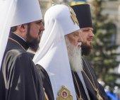 Ukrainian Orthodox Church Patriarch Filaret — Stock Photo