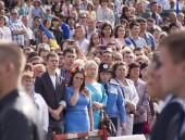Kiev  parade to mark Independence day — Stock Photo