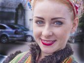 Artist of the folk ensemble, Ukraine — Stock Photo