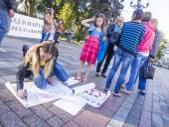 Soldiers' Mothers demand the Verkhovna Rada — Stock Photo