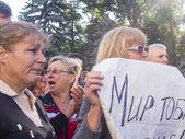 Soldiers' Mothers demand the Verkhovna Rada — Стоковое фото