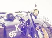 Motorcycle used by the Waffen-SS — Stock Photo