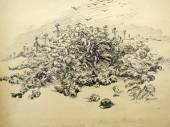 """Opening of the exhibition """"Apocalypse of the twentieth century. — Stock Photo"""