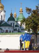 President  Petro Poroshenko -- Sophia Square — Stock Photo