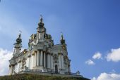 St Andrew's Cathedral, Kiev — Stock Photo