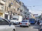 View towards Poshtova Square — Stock Photo