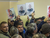 "Former employees of ""Berkut"" — Stock Photo"