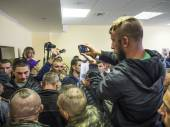 "Conflict between Maidan and former employees ""Berkut"" — Photo"