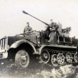 Постер, плакат: SdKfz 6 a half track military vehicle