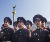 Cadets of Military School — Foto Stock