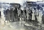 żołnierzy niemieckich i officiers pozowanie — Zdjęcie stockowe