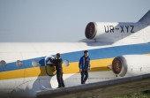 Museo dell'aviazione di kiev — Foto Stock