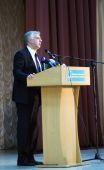 Education Minister Sergei Quit. — Stock Photo