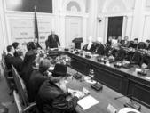 Arseniy Yatsenyuk and Alexander Turchinov — Stock Photo
