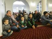 Eid al-Adha in Kiev mosque Ar-Rahma — Stock Photo