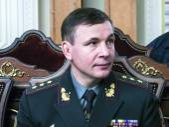 Ukrainian Defense Minister Valeriy Geletey — Stock Photo