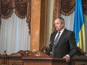 Chairman of Supreme Court Yaroslav Romaniuk. — Stock Photo