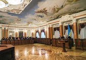 Visiting session of Cabinet of Ukraine — Stock Photo