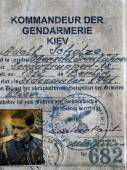 Obershturmbfurer Adolf Scholze — Stock Photo