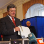 Постер, плакат: President of Ukraine Poroshenko