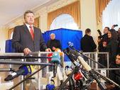 President of Ukraine Poroshenko. — Stock Photo